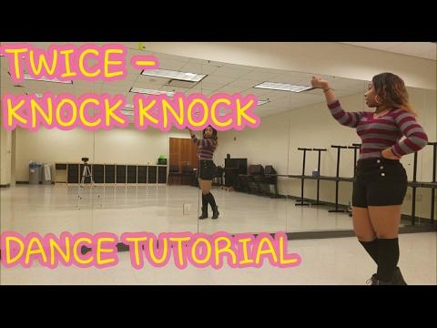 TWICE(트와이스) KNOCK KNOCK DANCE TUTORIAL