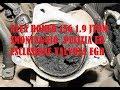 Smontaggio,pulizia ed esclusione EGR su 156 1 9 JTDm 16v