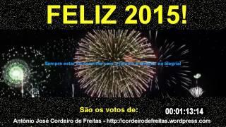 FELIZ ANO NOVO! 2015