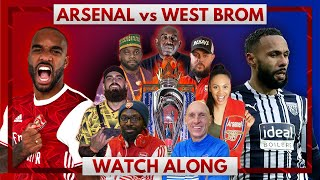 Arsenal vs West Brom | Watch Along Live