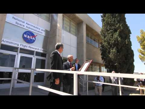 Name Unveiling at the NASA Armstrong Flight Research Center