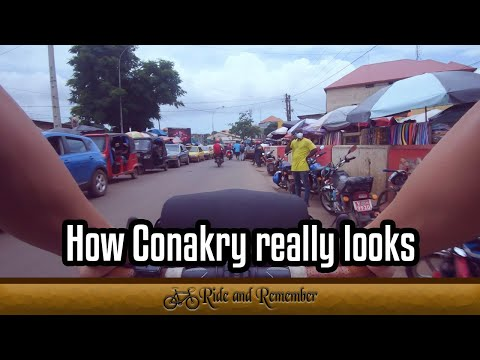 This is how Conakry really looks || Cycle Travelling the World || Guinea || Ride and Remember