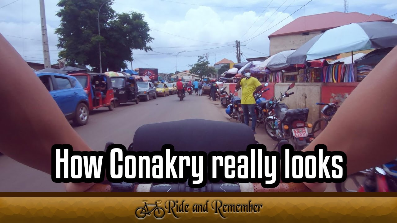 Download This is how Conakry really looks || Cycle Travelling the World || Guinea || Ride and Remember