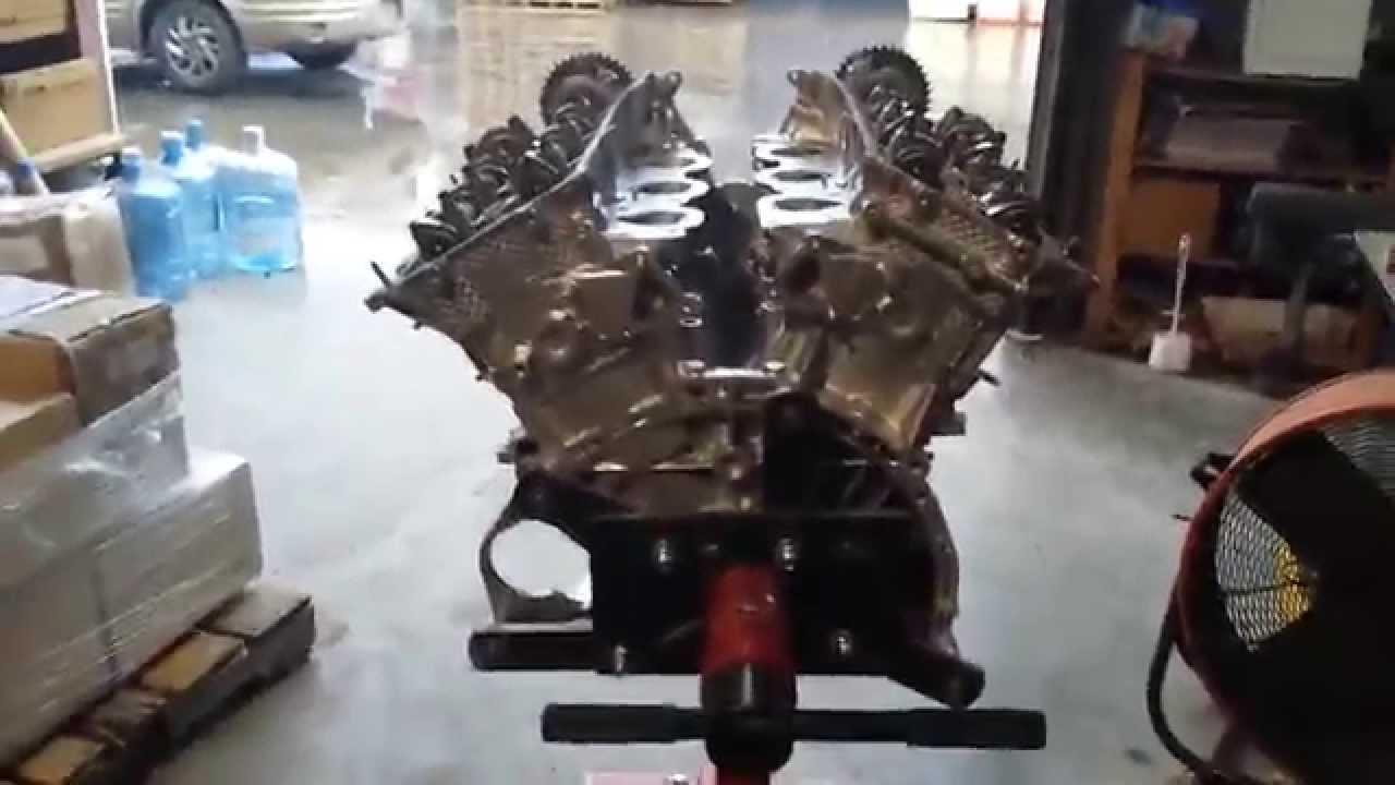 Engine World Inc Used Japanese Engines >> Toyota 1GR FE rebuilt engine for Toyota 4Runner, Tacoma, Tundra 2003 2010 - YouTube
