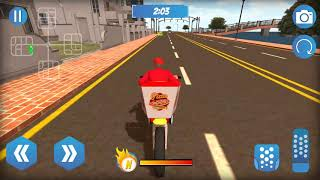 Big Pizza Food Delivery game - Highway pizza delivery