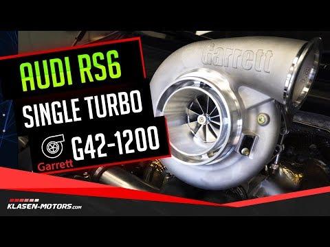 Audi RS6 4.0 TFSI Garrett G42-1200 1000 PS Single Turbo Tuning / Klasen-Motors.com