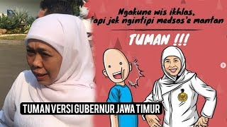 "Begini Meme ""TUMAN"" Versi Gubernur Jawa Timur, Khofifah yang Bikin Ngakak dan Lagi Ramai di Medsos"
