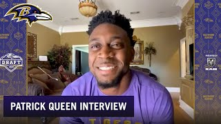 1-on-1 Interview With Patrick Queen | Baltimore Ravens