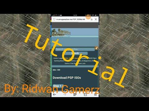 Cara Memainkan Game PSP Yang Di Download Dari Situs Emuparadise