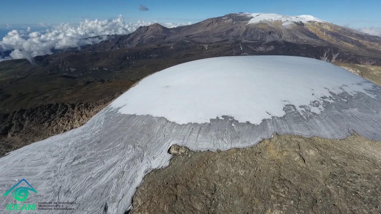 IDEAM - Sitios de monitoreo glaciar