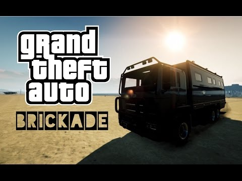 GTA 5 Brickade Mayhem director mode vehicle showcase