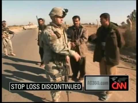 what is stop loss in the military
