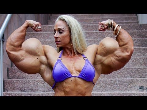 FEMALE BODYBUILDING, – KAITLYN, / FITNESS MODEL, WORKOUT, IFBB MUSCLE,