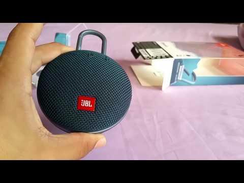 JBL Clip 3 bluetooth speaker unbox and sound test