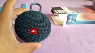 JBL Clip 3 bluetooth speaker unbox and sound test