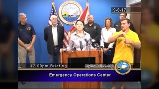 Growing outrage over sign language interpreter in Florida