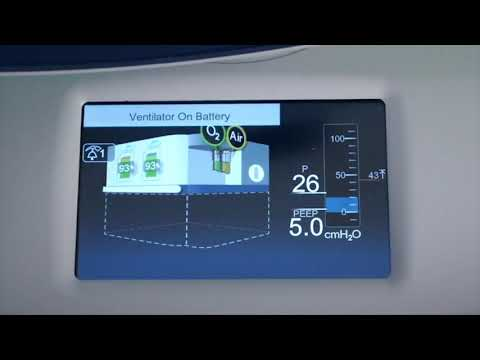 Puritan Bennett 980 Ventilator - Status Display