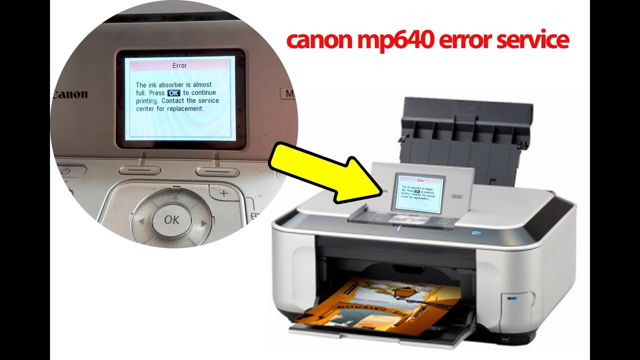 CANON MP640 PRINTER WINDOWS VISTA DRIVER DOWNLOAD