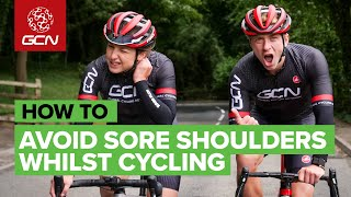 How To Avoid Sore Shoulders When You're Cycling