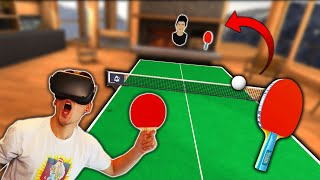 I'M THE WORST PING-PONG PLAYER EVER! (Eleven: Table Tennis VR)