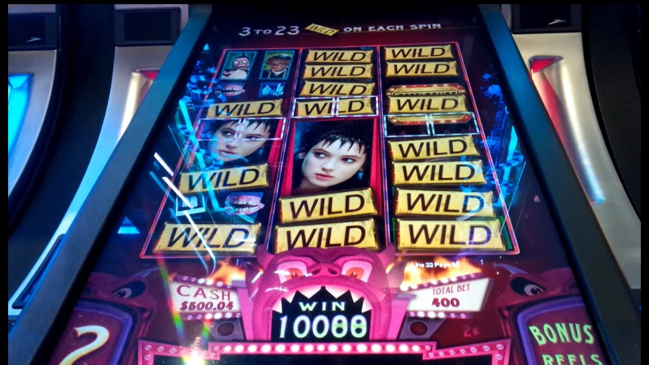 Beetlejuice slot machine locations poker news uk