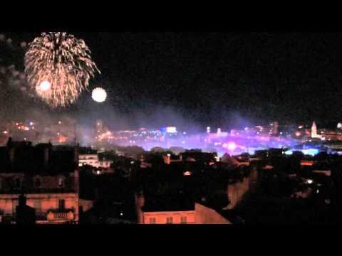 Feu d'Artifice 14 Juillet 2014 Marseille Vieux Port