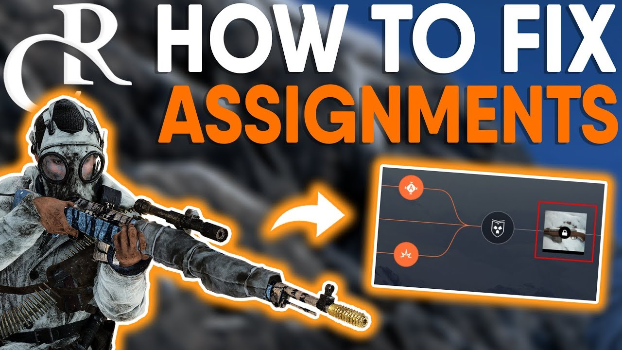 HOW TO FIX Tides of War ASSIGNMENTS NOT WORKING! - Battlefield V Tutorial