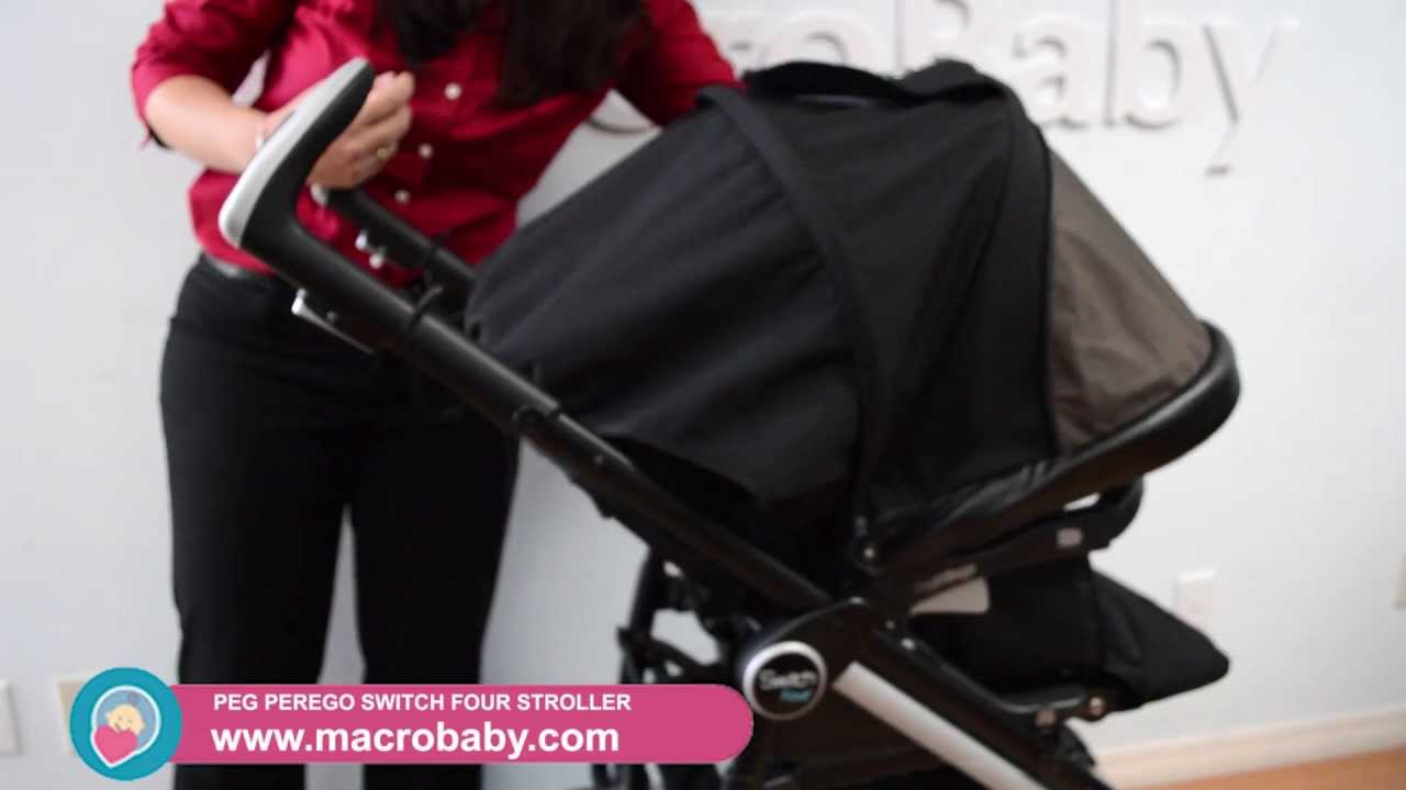 Macrobaby Peg Perego Switch Four Stroller