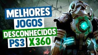 """Melhores Jogos """"DESCONHECIDOS"""" do XBOX 360 E PS3"""