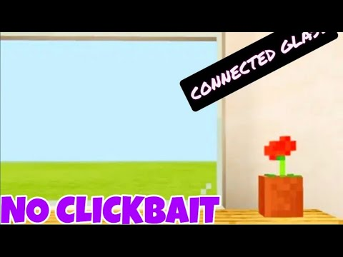 how-to-get-connected-glass-texture-pack-in-minecraft-pe-1.16- -tutorial-download-link!!