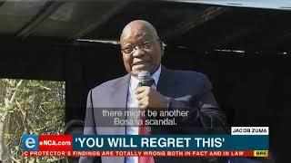 Jacob Zuma is preparing to dish the dirt