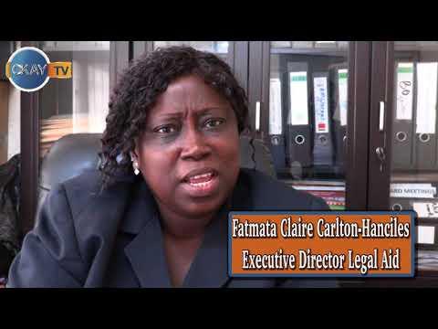 Fatmata Claire Carlton Hanciles - Executive Director Legal Aid Board Sierra Leone