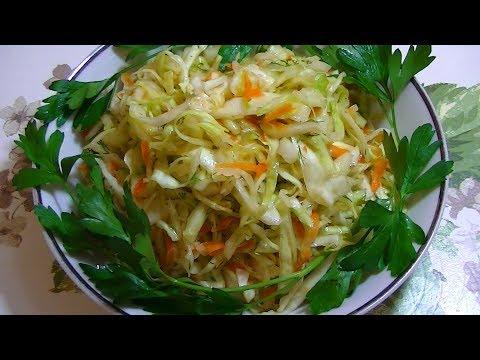 Очень Вкусный Салат из Капусты