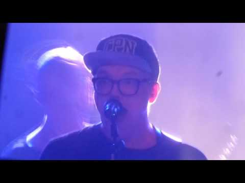 Carpark North live - Transparent (Lyrics) - 28.01.2017 - Zoom - Frankfurt a.M.