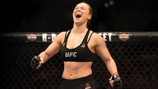 Ronda Rousey on Her Fights, Her Book and
