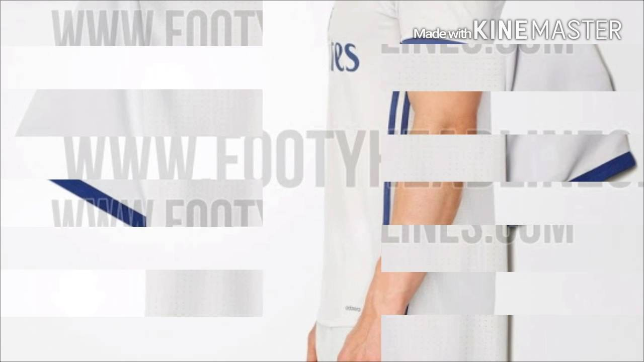 Jersey Local Real Madrid 2016-2017  95708b7219f