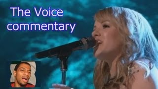 The Voice Top 10 Live performance show (commentary)