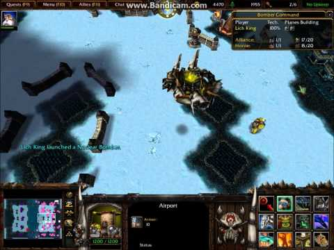 Assassin8 Gaming vs  Lich King Warcraft III Bomber Command