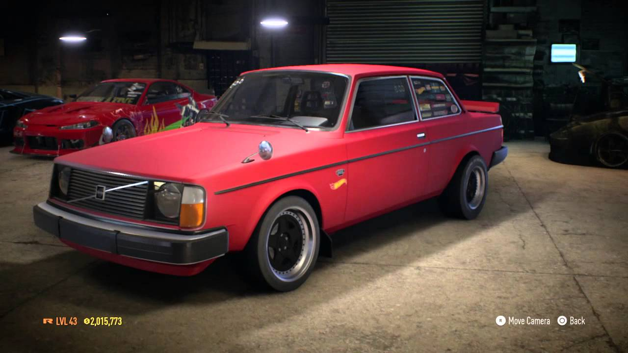 Need for Sd Volvo Drag Car