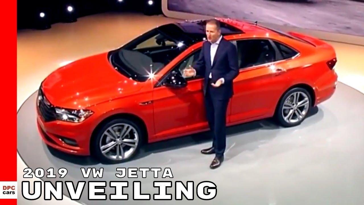 2019 VW Jetta Unveiling - Volkswagen - YouTube