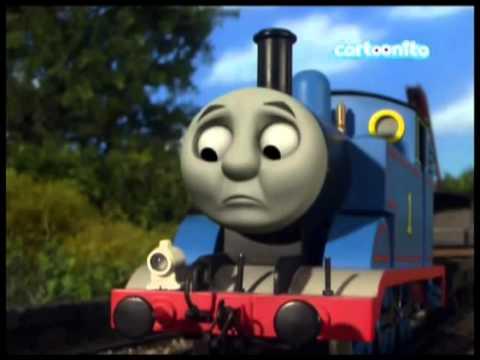 Il trenino Thomas Problemi nel frenare