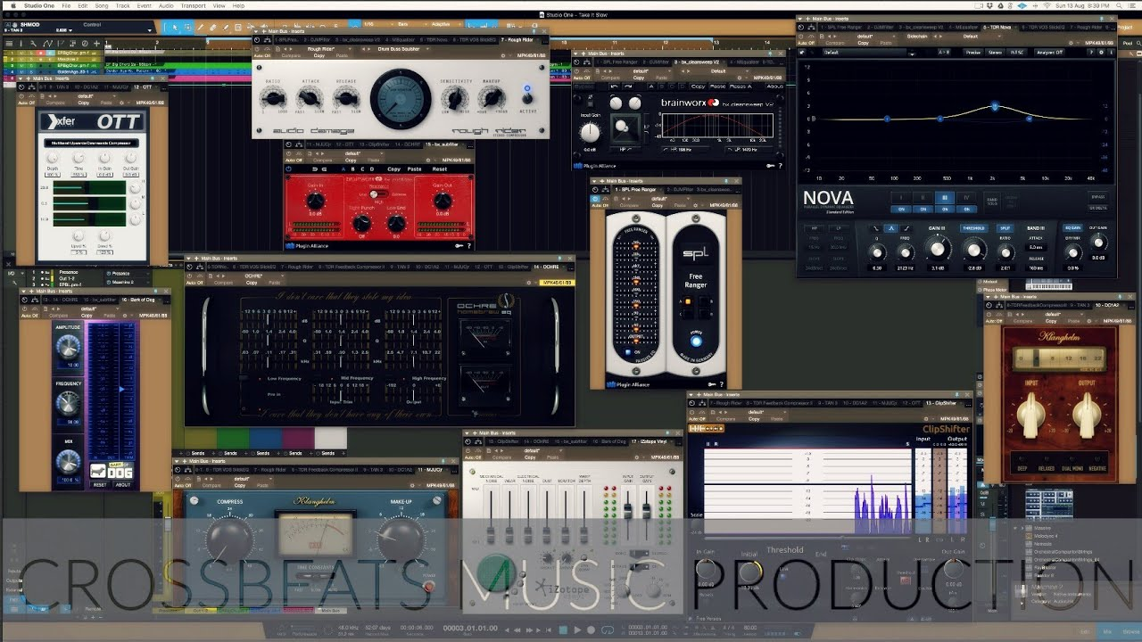 17 Free VST's | Plugins That Will Help You Mix | Studio One 3 5