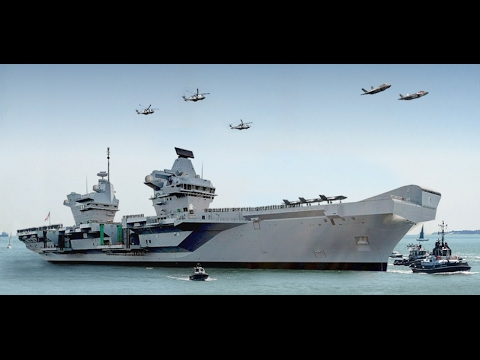Queen Elizabeth-class aircraft carrier BA system