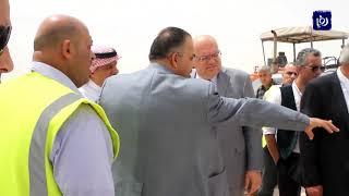 """""""الأشغال"""" تؤكد التقيد بعناصر السلامة المرورية في أعمال تأهيل الصحراوي - (2-5-2018)"""