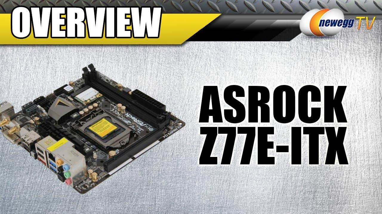 ASROCK Z77E-ITX INTEL DRIVERS FOR WINDOWS DOWNLOAD