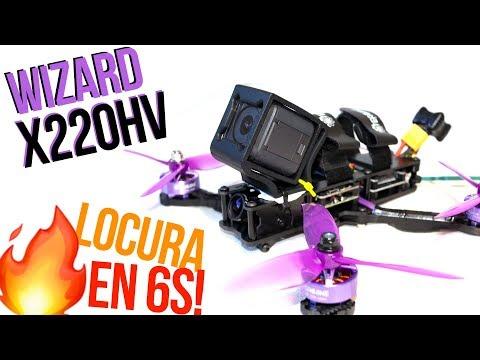 EL NUEVO WIZARD X220HV ME HA ENCANTADO PERO NO PUEDE CON 6S! Review!
