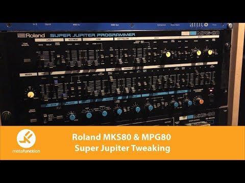 Roland MKS80 & MPG80 Super Jupiter Tweaking