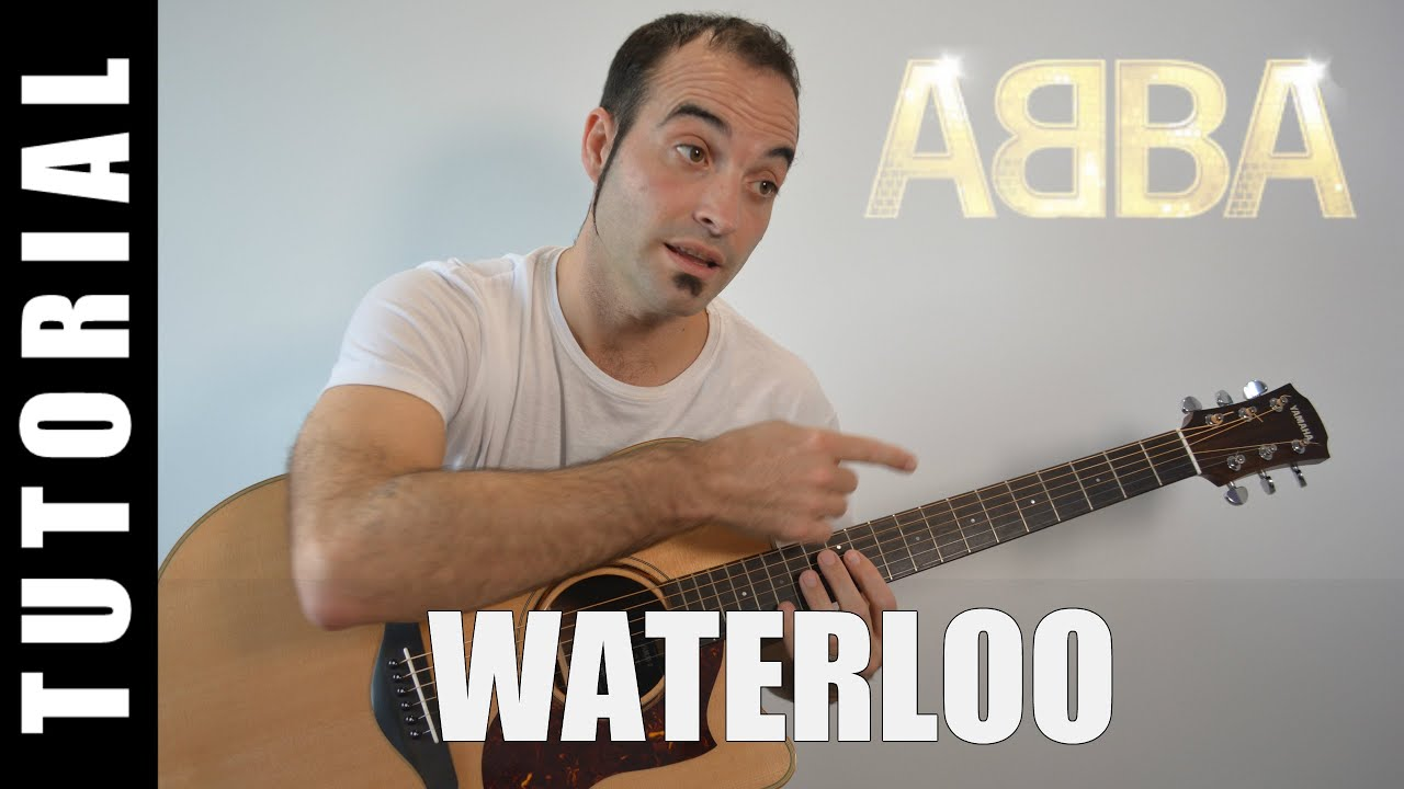How To Play Waterloo Abba Easy Tutorial Chords And Lyrics Tabs