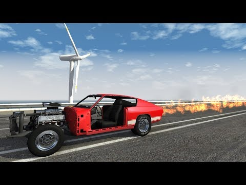 BeamNG.drive - 300 MPH Challenge (No Mods)