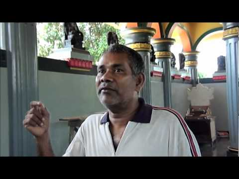 Interview with a Hindu Tamil Astrolger in Medan.wmv
